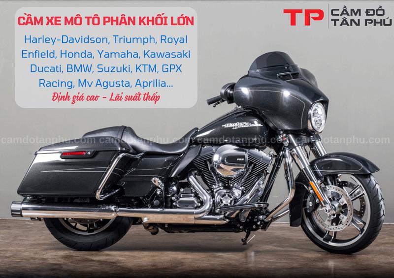 Cầm Đồ Tân Phú chuyên nhận cầm xe mô tô lãi suất thấp nhất thị trường