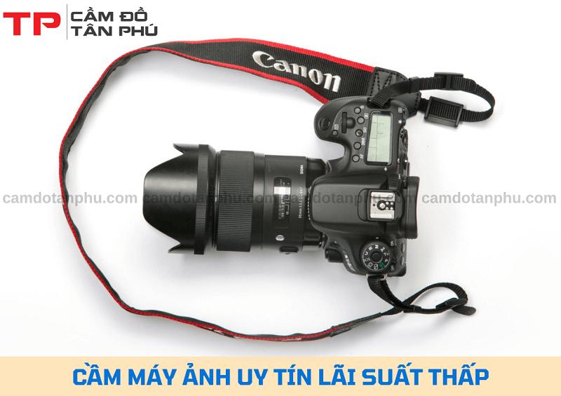 Dịch vụ cầm máy ảnh lãi suất thấp