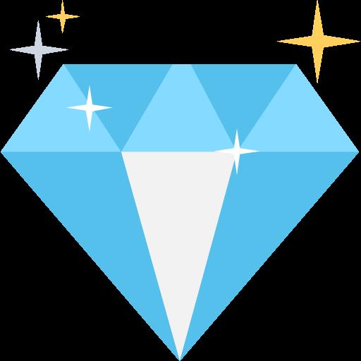 Icon cầm kim cương