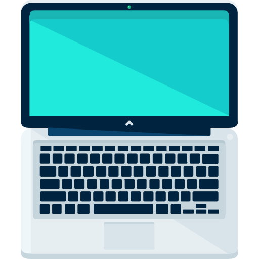 Icon cầm laptop