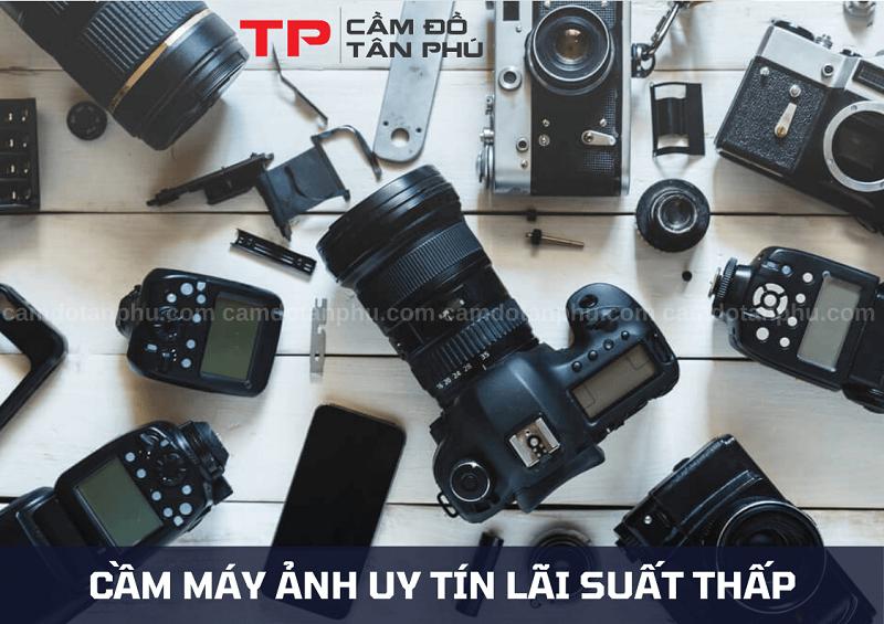 Cầm đồ máy quay phim, cầm máy ảnh