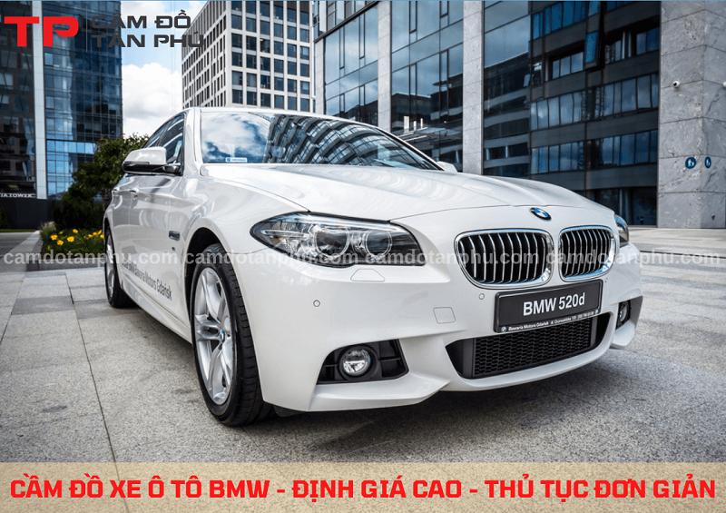 Cầm đồ xe BMW giá cao