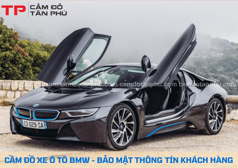 Cầm xe ô tô cao cấp hiệu BMW chuyên nghiệp
