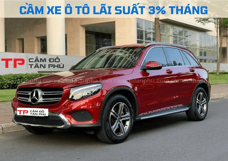 Cầm xe ô tô Mercedes lãi suất thấp