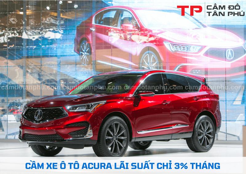Cầm đồ xe ô tô Acura chuyên nghiệp