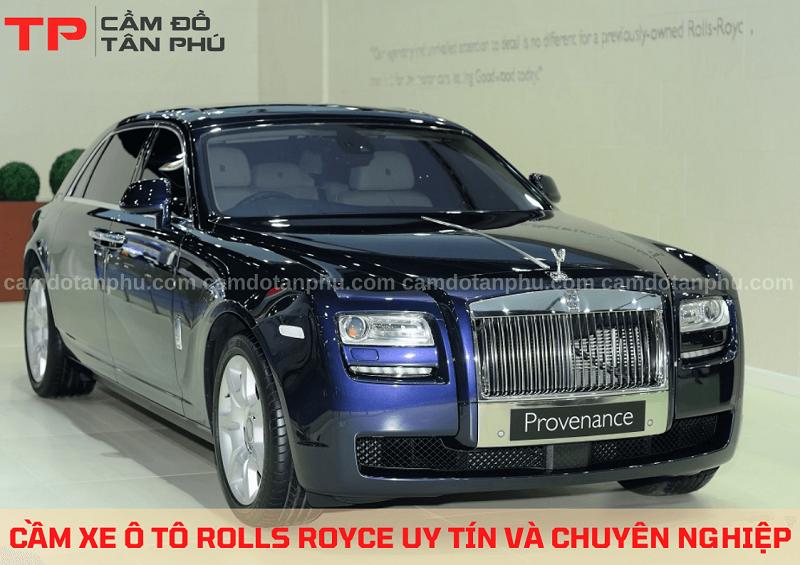 Cầm xe hơi Rolls Royce chuyên nghiệp