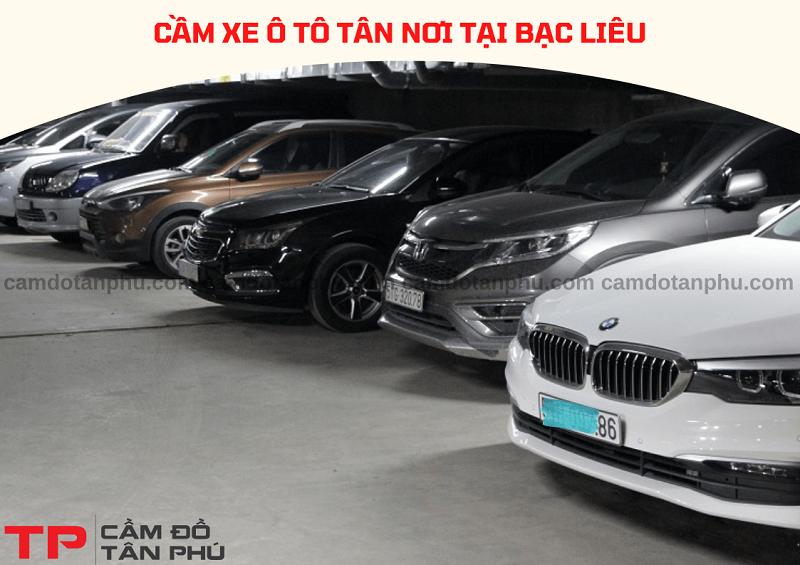 Cầm đồ xe ô tô tại Bạc Liêu lãi suất thấp
