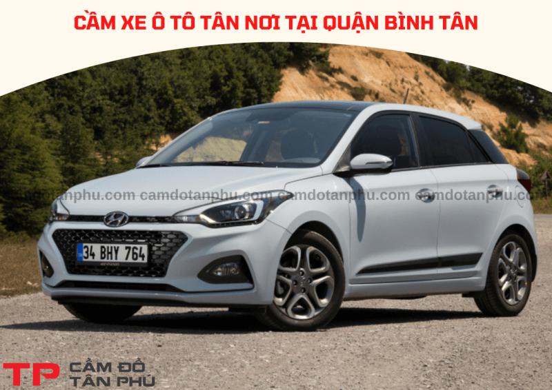 Cầm xe ô tô tại Quận Bình Tân lãi suất thấp