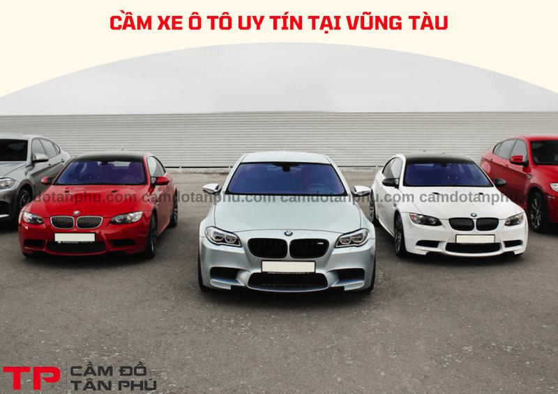 Cầm xe ô tô tại Vũng Tàu, giao dịch tận nơi