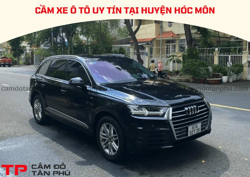 Dịch vụ cầm xe ô tô tại Huyện Hóc Môn, giao dịch tận nơi