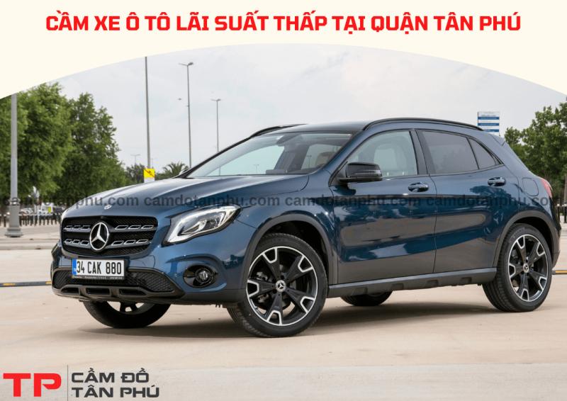 Dịch vụ cầm xe ô tô uy tín tại Quận Tân Phú