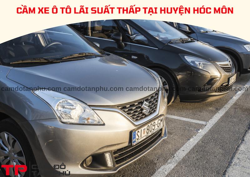 Nhận cầm xe ô tô tại Huyện Hóc Môn chuyên nghiệp